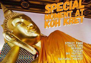 Special moment at Koh Kret