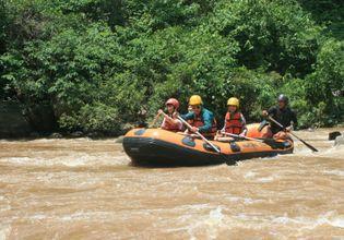ATV+Whitewater Rafting+Zipline (All in 1 Trip)