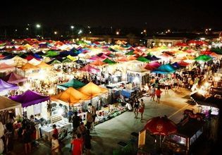 Let's Eat and Shop with A Local at Rod Fai Night Market