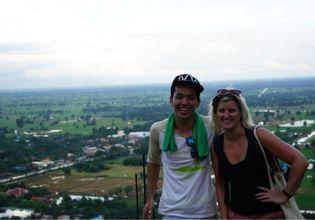 Sunset and Batcave in Battambang Tuk-Tuk tour