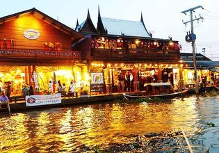 Amphawa Floating Market and Boat Trip Tour