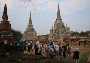 Visit famous ancient temple ruins
