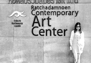 Bangkok Art Gallery with Fan's fun
