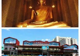 Kanlaya Temple and bustling Wang lang area known for the best street food