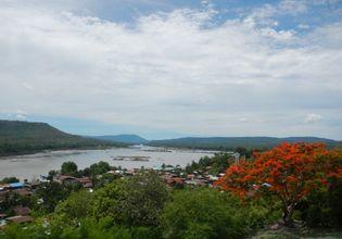 View of Khongchiam city