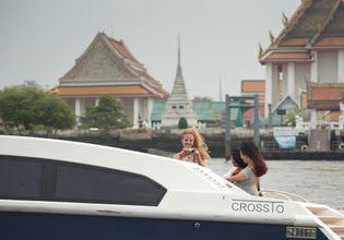 Enjoy the back of X2 River Cruises