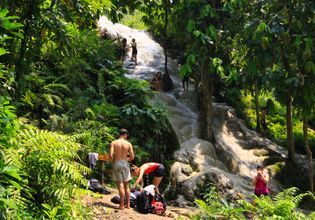 """Explore The Bua Tong """"Sticky"""" Waterfall With a Local Expert"""