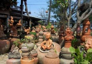 A Bike Ride around a Pottery Island of Koh Kret (Only Saturday & Sunday)