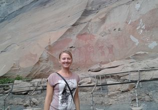 Pre historical painting at Phataem National Park