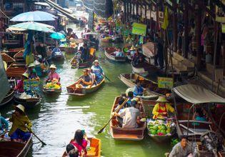 [Joined Tour] Damnoensaduak Floating Market + River Kwai