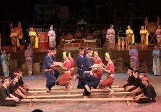 Thai village culture & Elephant Show