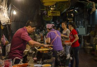 A day in Bangkok Old Town & Eating Best local food