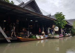Floating 4 Market + Snorkeling and Nong Mon Market
