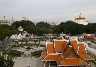 View from the Rattanakosin Musuem