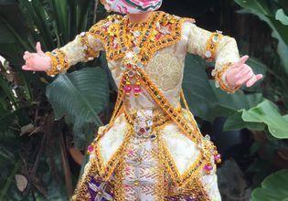 Khon thai classical doll