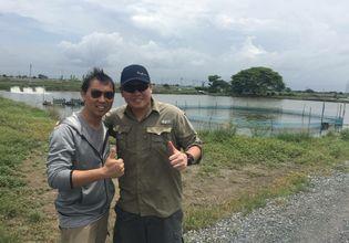 Giant Barramundi lure fishing trip