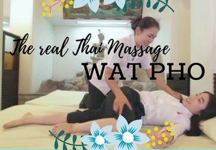 Real Traditional Thai Massage at Wat Pho and Enjoy Bangkok Old Town Food