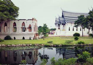Sanphet Prasat Palace Ayutthaya