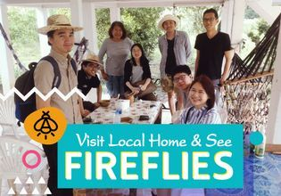 Visit Local Home & See Fireflies at Koh Kret
