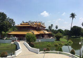 The Chinese Hall at Bang Pa In Palace