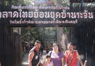 Experience the Old Tradition Thai Culture through The Legend of Bang Rachan Village & Buffalo Village