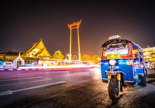 Tuk Tuk Bangkok Night Tour!