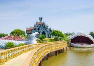 One day trip with Historical Wonders Ancient City and Erawan Museum