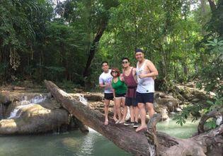 Erawan Waterfall Tour