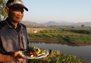 Enjoy fresh vegetable & local grown among nature