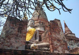 Historic Park of Ayutthaya Tour & Floating market  ( Day trip from Bangkok)