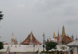 The Grand Palace the Emerald Buddha in the Morning