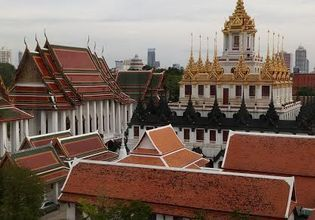 View from the Rattanakosin Museum