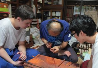 Day Tour into Japanese Instruments and Chopsticks Making