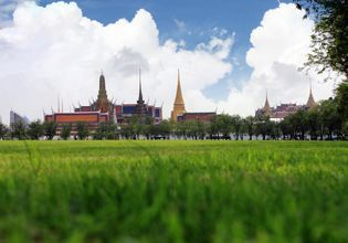 Grand Palace from the Royal Field