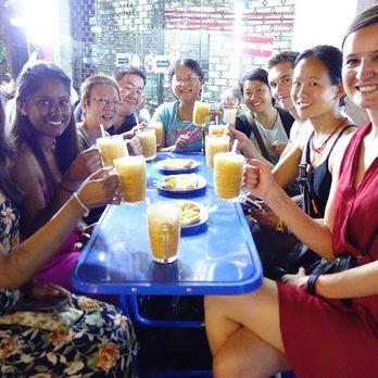 Drinking at Chinatown