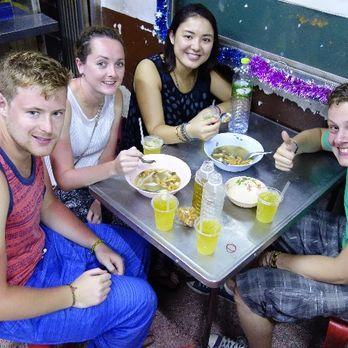 Eating at Chinatown