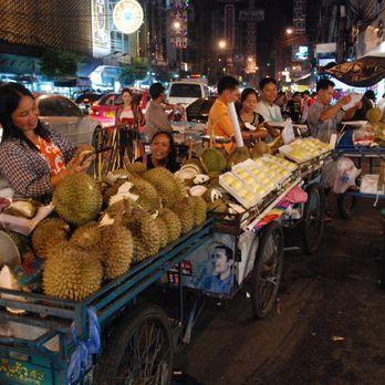 Durian vendors