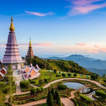 The Two Pagodas
