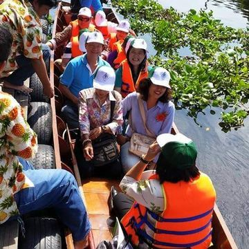 "Plaibang Community River Life Style Sightseeing : ""The Venice of West Bangkok"""