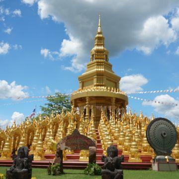 Amazing SARABURI ! 500 golden Pagodas