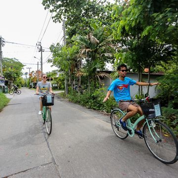 See the Green Corner of Bangkok on Bike [Special for Customize Customer]