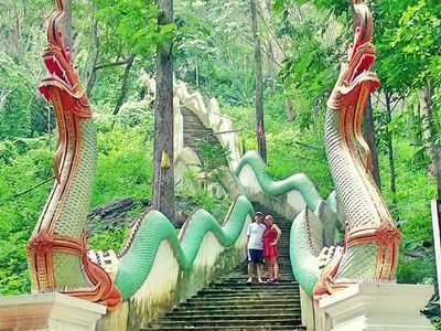 Bua Tong Cave...200 staircases waiting for you^^