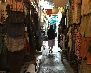 Second Hand Shopping Tour with A Professional Designer
