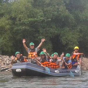 Let's go rafting nearby Bangkok