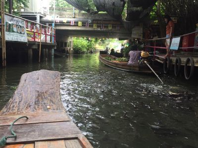 "Real Floating Market ""Khlong Lat Mayom"""