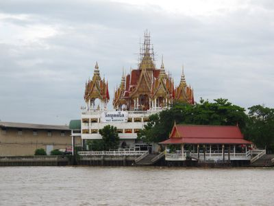 The Bukkalo Temple on river side