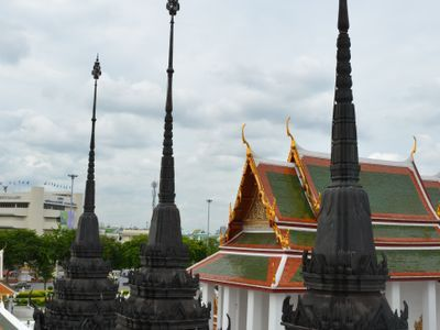 see the historical heart of Bangkok in panorama!
