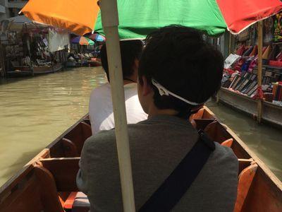 Tour the Maeklong Railway Market, Damnoen Saduak Floating Market and Elephant Camp