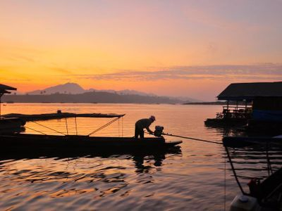 See the Genuine Local Life in A Haven of Serenity (Sangkhlaburi)
