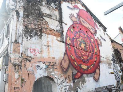 Street art in Phuket old town